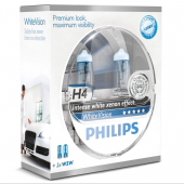 Philips  Autolampe H4 White Vision