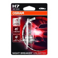 Osram  Autolampe H7 Night Breaker Unlimited