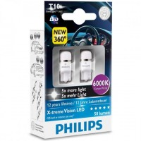 Philips X-treme Vision LED (T10) 8000K